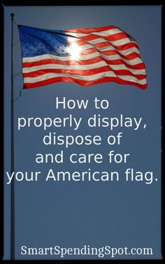 flag day rules