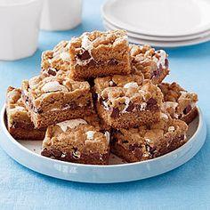 S'mores Cookie Bars | MyRecipes.com