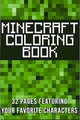 Minecraft Coloring Book Free Pages