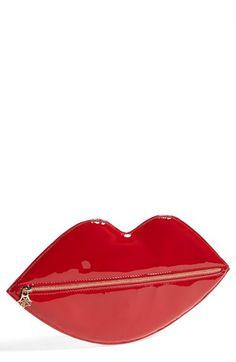 Charlotte Olympia Lip Shaped Clutch {too cute}