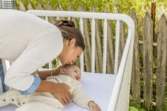 You want to feel secure when putting baby to sleep. We love that @naturepedic crib mattresses are made from natural and organic materials, a non-toxic design, fire-safe, and promote overall health and safety.  #PNapproved #PNpartner