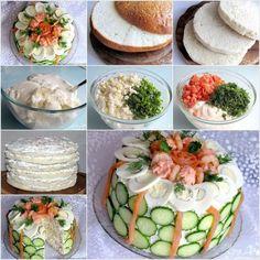 DIY Make a Sandwich Cake