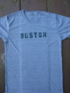 Hearty Souls Distressed Boston T-Shirt ... utah please