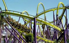 Ride one of the worlds 'best' roller coasters.. like the Bizarro, at Six Flags New England in Massachusetts.