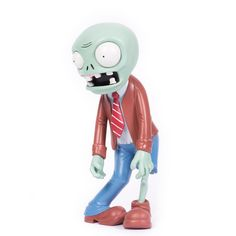 """Don't+you+want+a+zombie+you+can+call+your+own?+A+zombie+who'll+be+with+you+when+you're+all+alone?+Well+your+day+has+arrived.+Stick+this+zombie+in+your+yard+and+you'll+never+have+to+pull+weeds+again+(note:+not+true).+Take+our+advice,+at+any+price,+a+zombie+like+this+zombie+is+mighty+nice.+But+we+are+not+responsible+for+what+happens+if+he+gets+inside.  Zombie+stands+approximately+14""""+tall."""