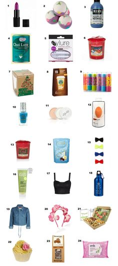 Gift Ideas For Wedding Advent Calendar