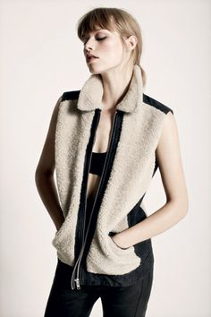 AllSaints Fall '12: an exercise in subtle contrasts
