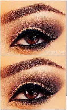 Wedding Day Makeup For Brown Eyes : Nice make-up for brown eyed girls. Wedding Collection ...