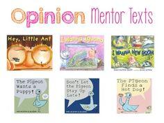 persuasive essay mentor texts