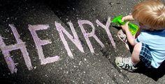 Outdoor Play : Homemade Sidewalk Paint