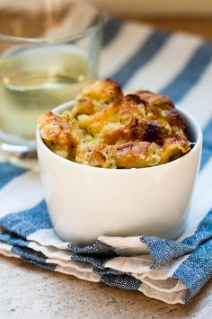 Roasted Fennel, Sausage & Apple Bread Pudding | Recipe | Fennel ...