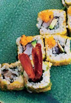 Maki de carabinero #recipe #cuisine