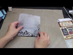 DIY mini photo book. June Kit. - YouTube