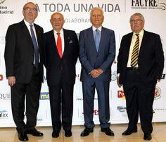 Madrid rinde homenaje a algunos de sus chefs y sumilleres más veteranos #cuisine