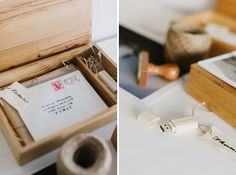 Cinzia Bruschini | Packaging | Branding | Wooden Box | USB| Cute gifts for clients