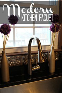 Amanda of Dreamsicle Sisters installed our Brizo Pull-Down Smart Touch faucet in her kitchen. Watch her video review on her blog!