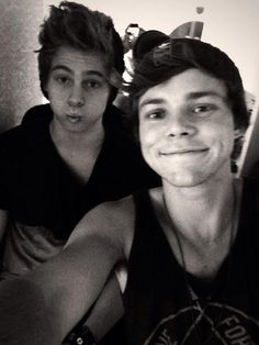 Ash and Lukey