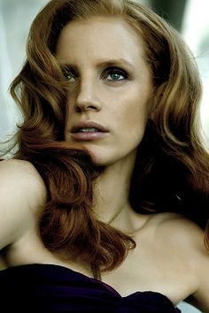 Jessica Chastain. she is beautiful!!!