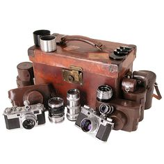 George Rodger's travel kit of Nikon rangefinder cameras and lenses George Rodger (19 March 1908 – 24 July 1995) was a British photojournalist noted for his work in Africa and for taking the first photographs of the death camps at Bergen-Belsen at the end of the Second World War.