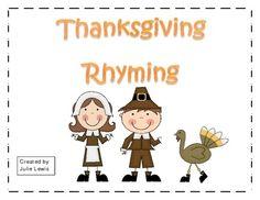 Thanksgiving Rhyming