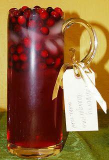 cranberry margaritas -