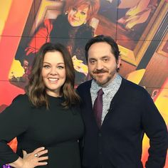 @MelissaMcCarthy and Ben Falcone are total BOSSES. Love the pic, guys! PS - who still has 5 boxes of Girl Scout cookies in their freezer? (Trick question: those should totally be a goner.)