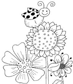 ladybug and aphid coloring pages - photo#49
