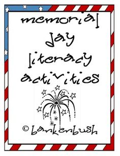 memorial day mini book kindergarten