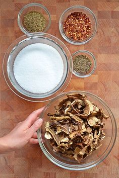 """Magic Mushroom Powder -- The Oregonian calls it """"a spice blend with a psychedelic-sounding name, and while it has no hallucinogenic powers, it truly is magic, adding much-desired umami to everything it touches."""""""