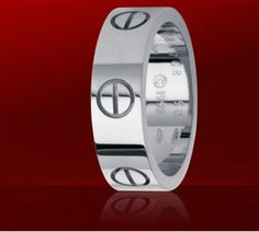 Cartier White Gold Love Ring  $ 35.99