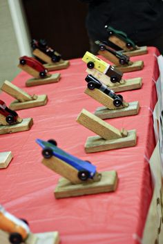 Maybe we could do this as a pack before pinewood derby. Each den do them in the weeks leading up to the derby?