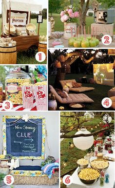 I really like the movie night party idea. Great for the girls and their friends too