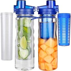 A double-filtered infusing water bottle that'll keep you hydrated AF.