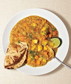 Get the recipe for Red Lentil Curry.