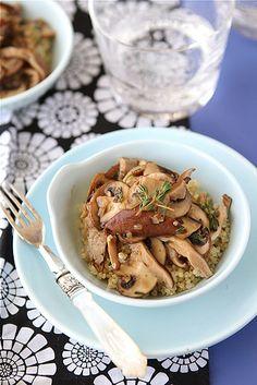Mushroom Sugo with Rotini | Vegan: Delicious noms. | Pinterest ...