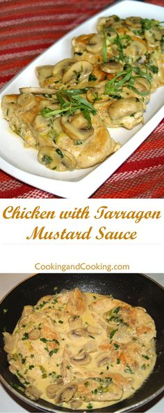 Chicken with Tarragon Mustard Sauce Recipe