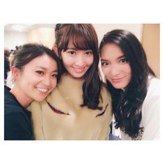 Yuko, Kojiharu and Sayaka #AKB48