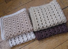 Crocheting Rows Turning : Crochet~ Washcloth- (Danish to English) Chain 63. Turn all rows with ...
