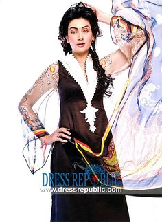 Brown Pakistani Designer Dresses in Lawn Fabric with Price - See The Website To Buy designer lawn collection sprinkler wakefield, 2013 lawn dresses pakistan Buy designer lawn dresses 2013 by pakistani designers. Aeisha varsey lawn designs 2013 with price is available by www.dressrepublic.com