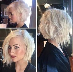 25 Good Asymmetrical Bob Haircuts   Bob Hairstyles 2015 - Short Hairstyles for…
