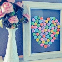 A Valentine craft that is great for a kid that wants to help! Get ready for Valentine's Day!