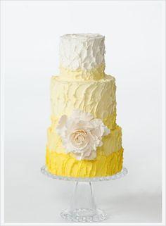 ... From David's Bridal | Yellow, Yellow Weddings and Yellow Wedding Cakes