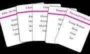 Free LDS games...Taboo, Catch Phrase, Mafia, matching, etc.
