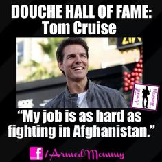 tom cruise you are an asshole