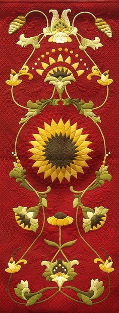 Tuscan Sun, detail, by Gina Perkes
