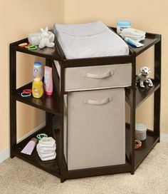 a better changing table. Who decided changing a baby from the side was a good idea?