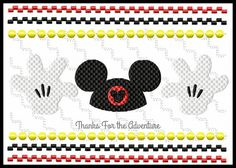 Hey Mickey Mouse Club Hat and Hands Faux by Thanks4TheAdventure