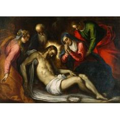Jacopo Palma Il Giovane, The Entombment, 16th century, oil on canvas, Dallas Museum of Art, The Karl and Esther Hoblitzelle Collection, gift of the Hoblitzelle Foundation