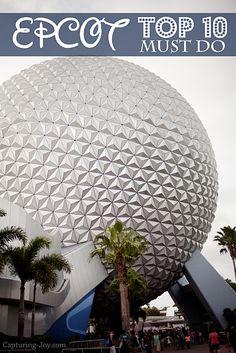 Walt Disney World Family Vacation: Epcot Top 10 Favorites #disney #epcot www.Capturing-Joy.com