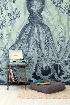 4040 Locust Octo-Sea Tapestry #urbanoutfitters
